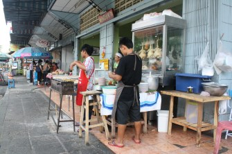 A local eatery in Chiang Mai.