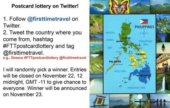 Twitter lottery copy