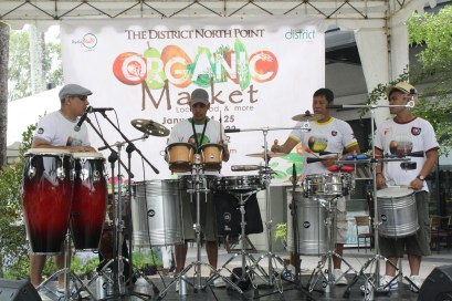 The Organic market at the District North Point.