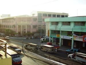 The streets of Iloilo City.