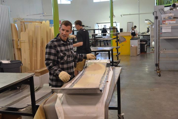 Production Factory Manufacturer Ramp Sports Begins Oem Ski Production First Tracks