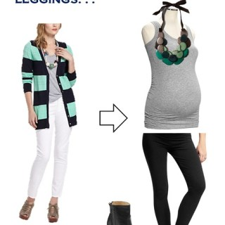 Layering with Leggings