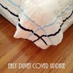 An Easy Duvet Cover Update