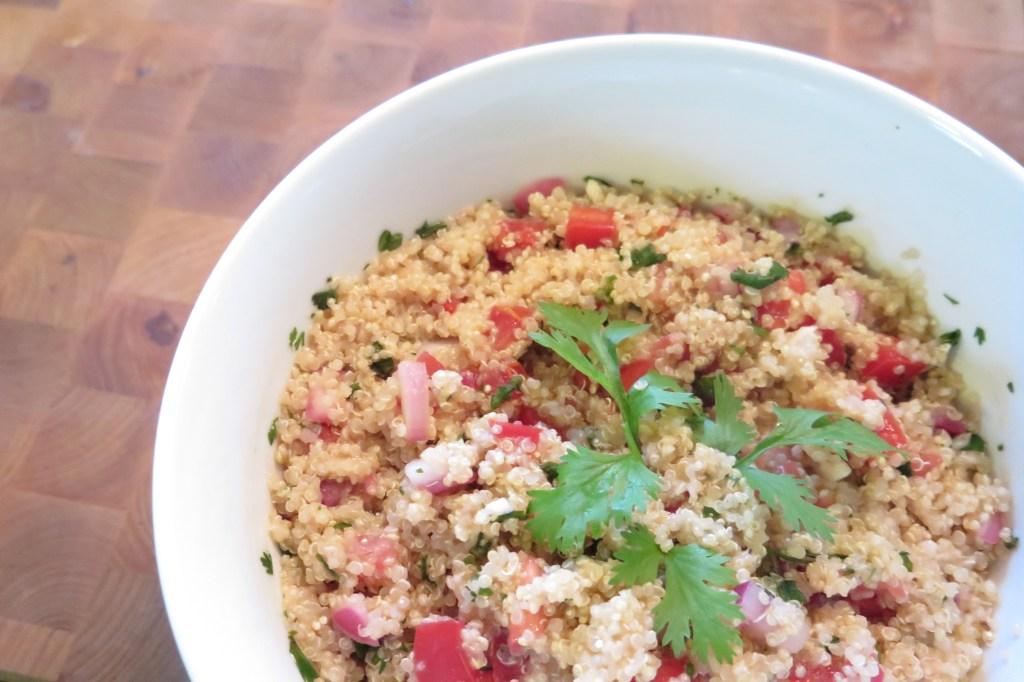 Vegetarian Mexican Quinoa Bowl