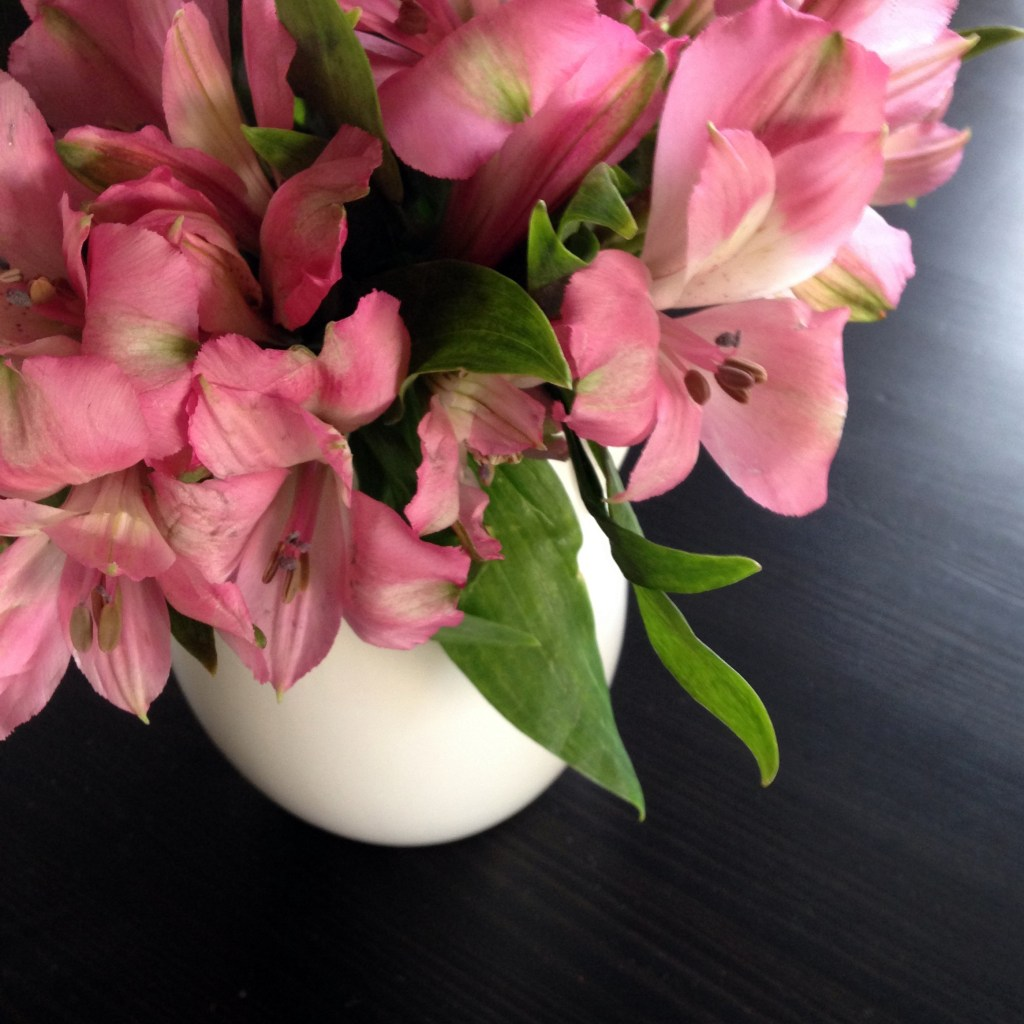 fiscally chic pink flowers