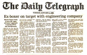 The Daily Telegraph - Jan 1989