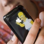 Calcomanía+Homero+iPhone1