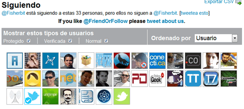 Averigua quién no te sigue en Twitter con FRIEND OR FOLLOW