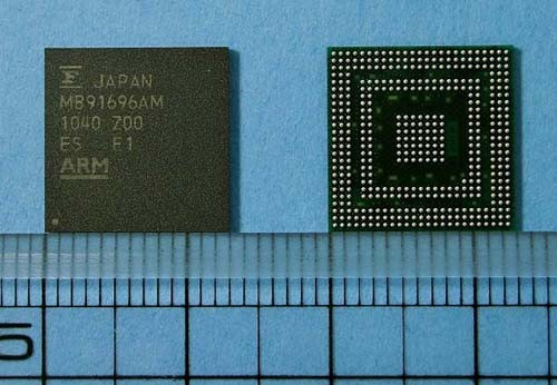 Procesador de imágenes Milbeaut MB9169AM