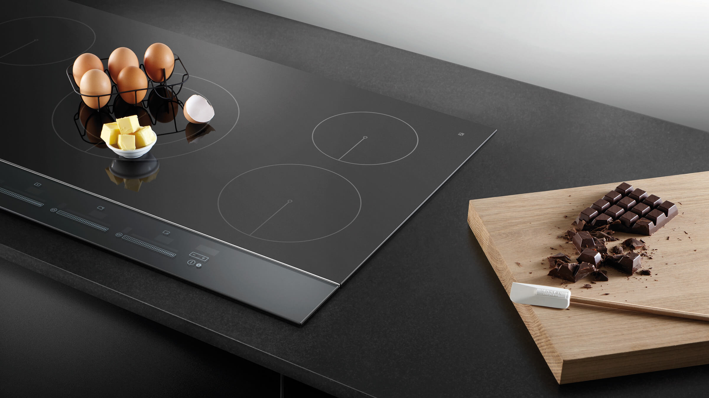 Induction Cooktop Fisher And Paykel 60cm 3 Zone Touch And Slide Induction