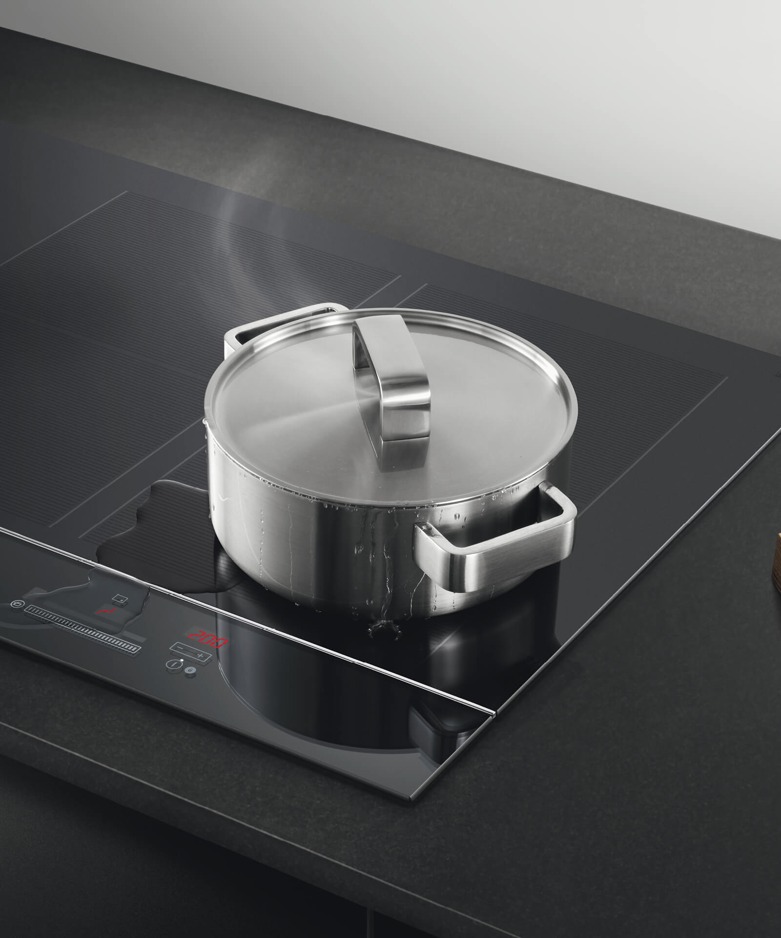 Classic Cuisine Induction Cooker Instructions Ci905dtb3 90cm 5 Zone Touch Andslide Induction Hob
