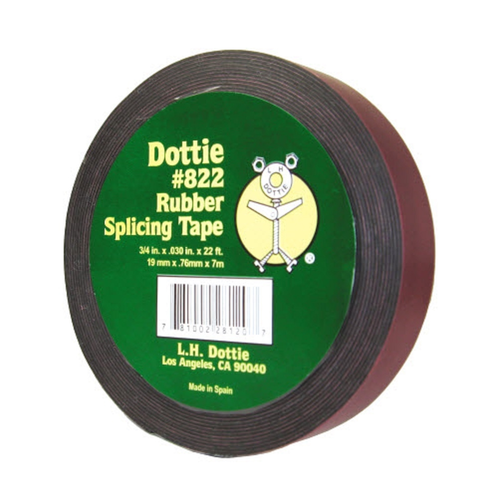 Splicing Tape Dottie 822 Rubber Splicing Tape Low Voltage Roll 3 4
