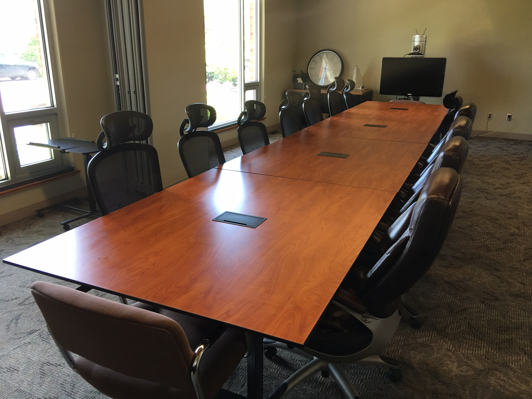 Meeting Room Tables Executive Meeting Rooms Fisher Video Conferencing