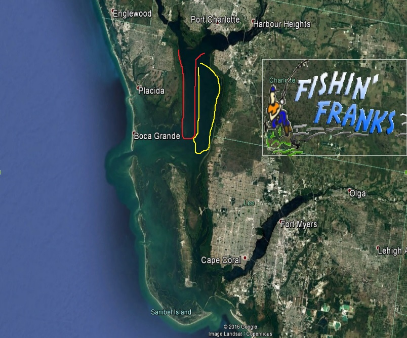 Tides for Charlotte Harbor  Southwest Florida from Fishin Franks