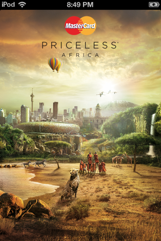 Priceless Africa from MasterCard