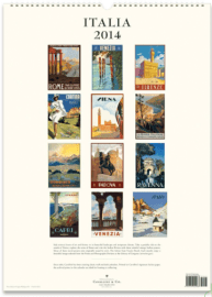 Cavellini Italia 2014 Calendar