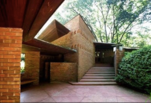 The Palmer House Designed by Frank Lloyd Wright