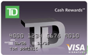 TD Bank Cash Rewards Credit Card