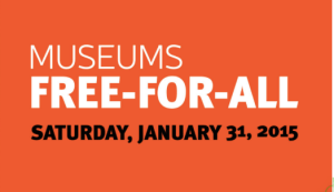 Museum Free-For-All in Los Angeles January 31, 2015