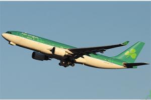 Aer Lingus Inaugural Airbus Flight into IAD