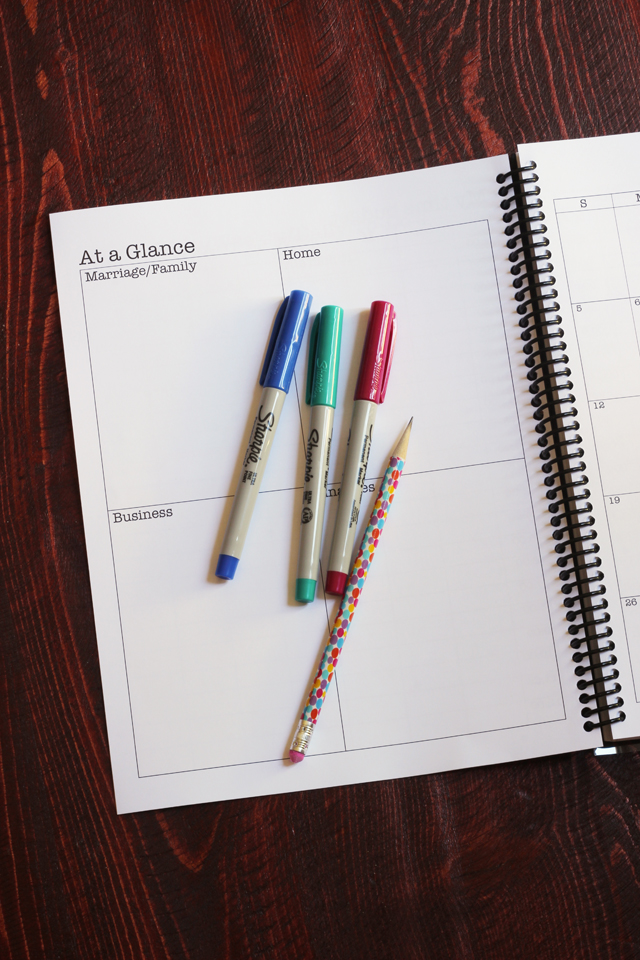 The Print  Go Planner (18-Month / 2018-2019)
