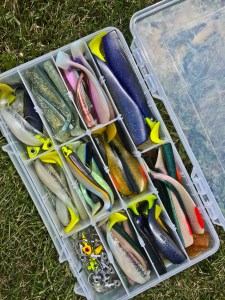 A good colour selection is key on Last Mountain Lake. G&S Marina's tackle store is usually stocked well.