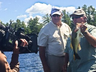 During our Bootcamp trip, Roy Armes had the distinct pleasure of taking some time to guest appear in a Fishing With Roland Martin episode.