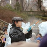 A Winter's Day in Central Park – Central Park Ice Festival