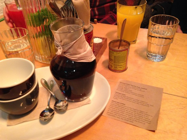 Delicious coffee at Brother Hubbard