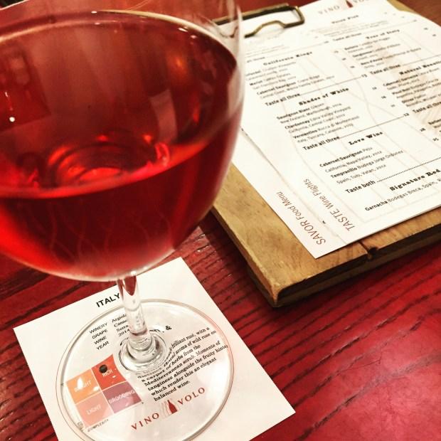 Airport wine