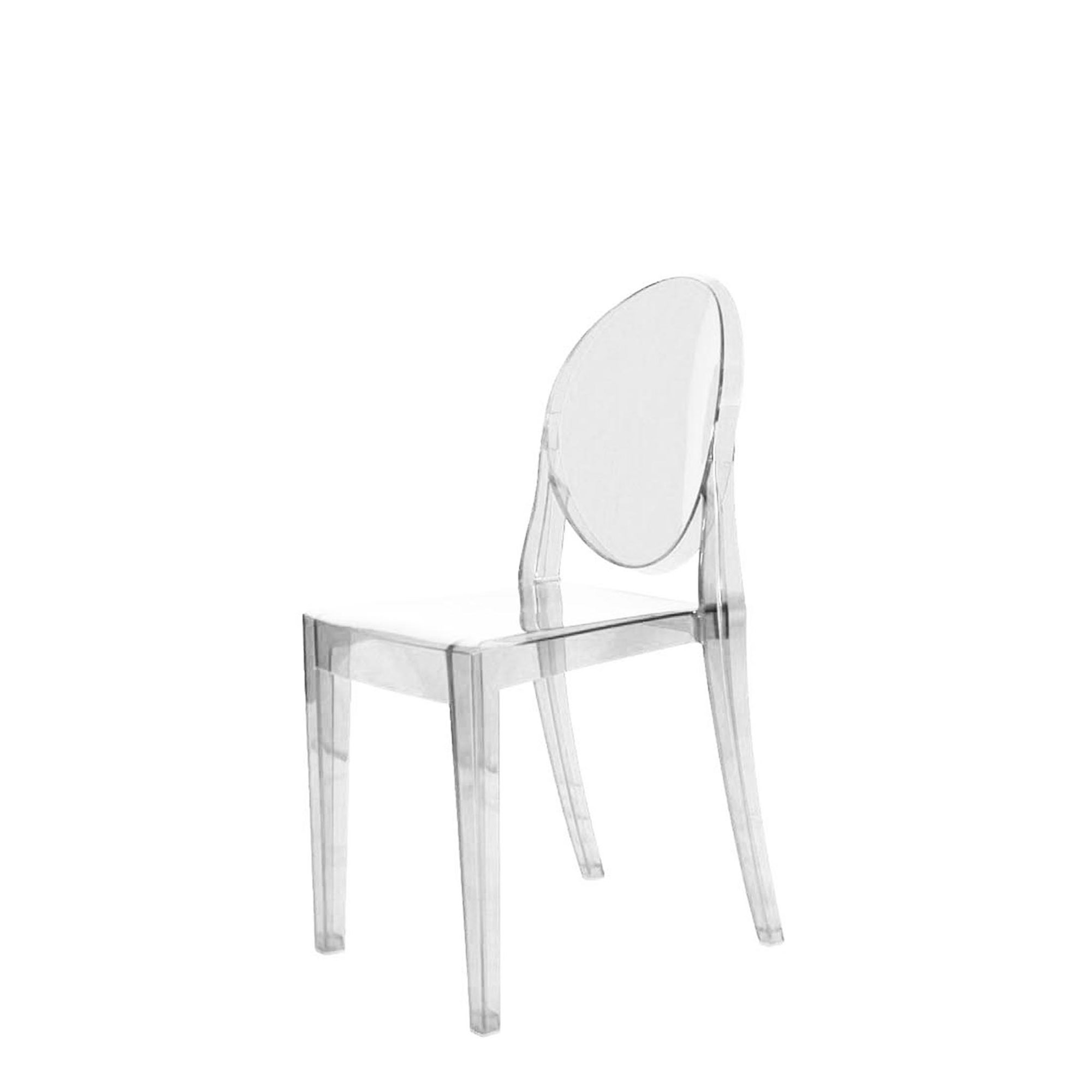 Philippe Starck Ghost Chair Victoria Ghost Chair Victoria Ghost Chair Clear