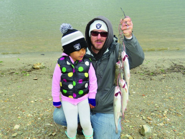 Family fun and great trout fishing was the word for anglers that participated at the NTAC Collins Lake tournament on April 8.