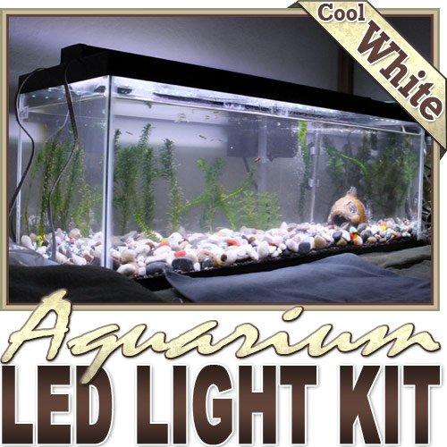 ft Cool White Aquarium Fish Tank White LED Lighting Strip?Dimmer