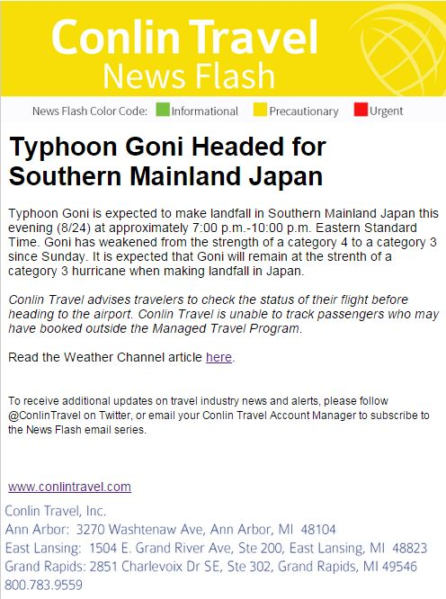Mba Concentrations Wayne State University Typhoon Goni Headed For Southern Japan Fiscal Operations