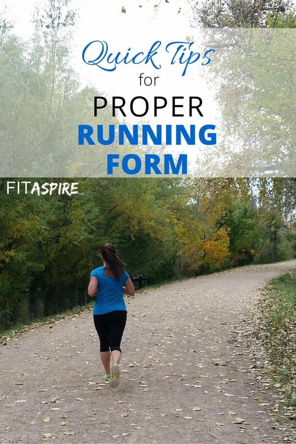 Quick Fixes for Proper Running Form FITaspire