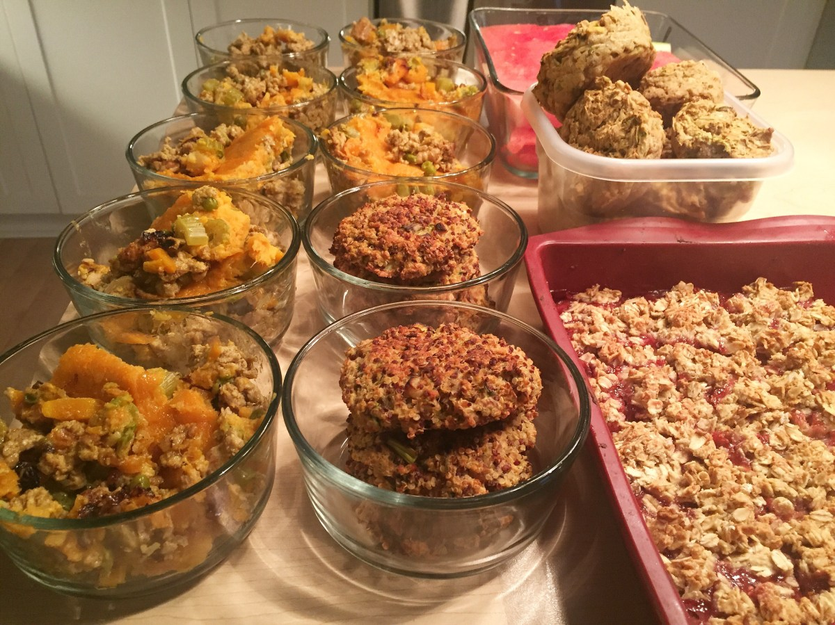 Meal Prep August 21st 2016