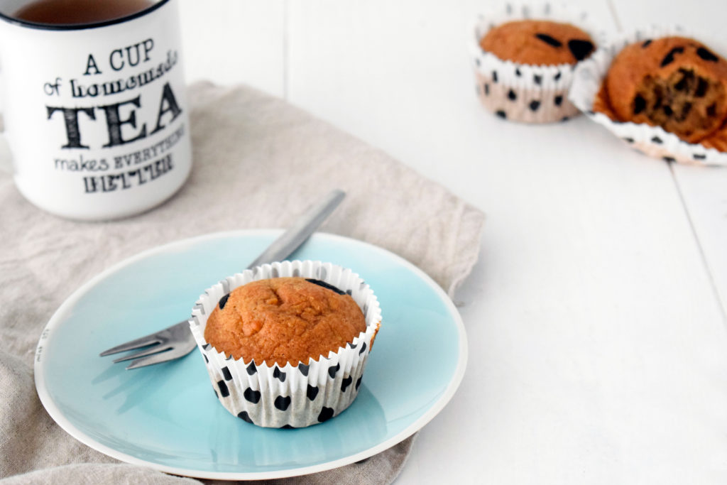 Havermout muffin met chocolade FitFoodFab