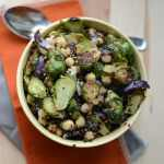 Roasted Brussels Sprouts and Quinoa Salad
