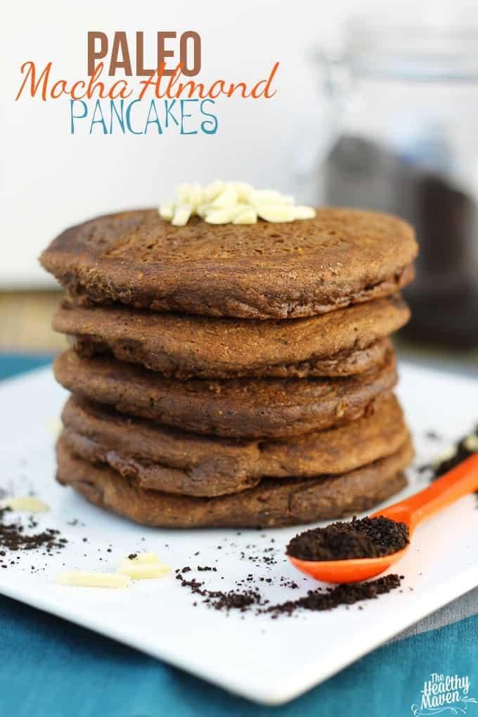 Paleo Mocha Almond Pancakes