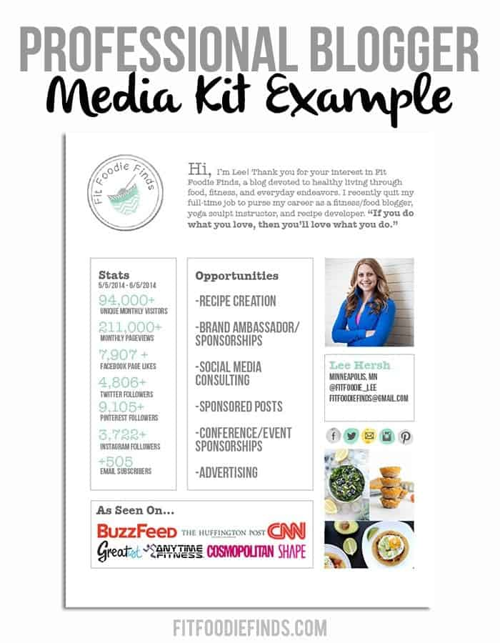 Blogging \ Biz- How to Sell Yourself to a Client - Fit Foodie Finds - follow up resume