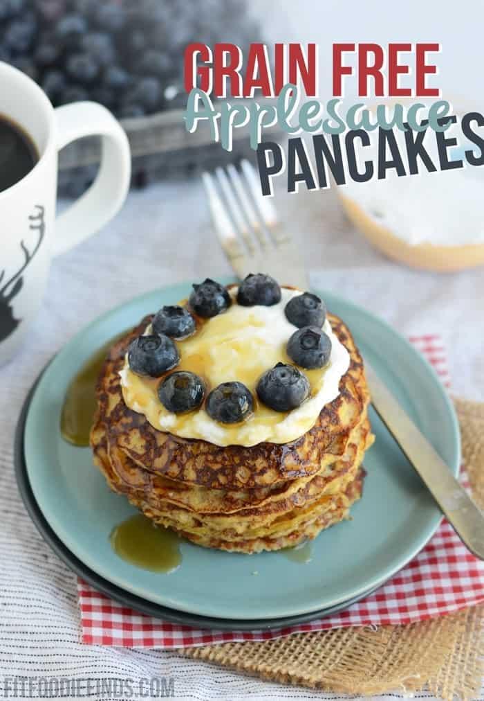 Paleo Mom's Applesauce Pancakes
