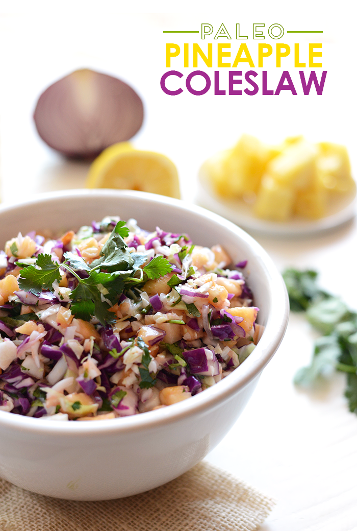 Paleo Colorful Coleslaw