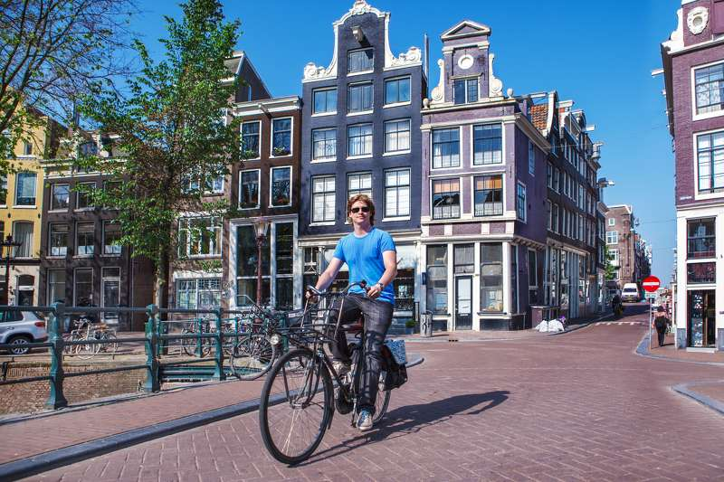 Huisjes Behang Amsterdam: City Active Amsterdam - Fit For Fun