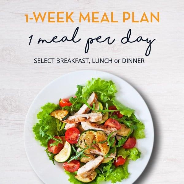 1 Week - 1 Meal per Day Plan - Fit Fresh Cuisine