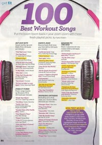 100 Best Workout Songs | Fit Girl. Happy Girl.