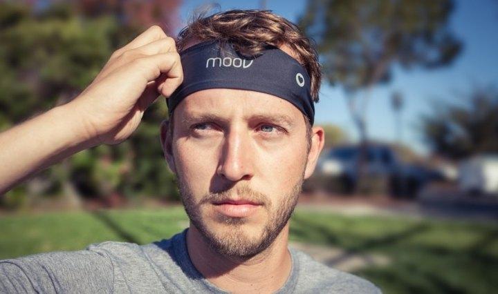 Moov HR hoofdband met hartslagmeter