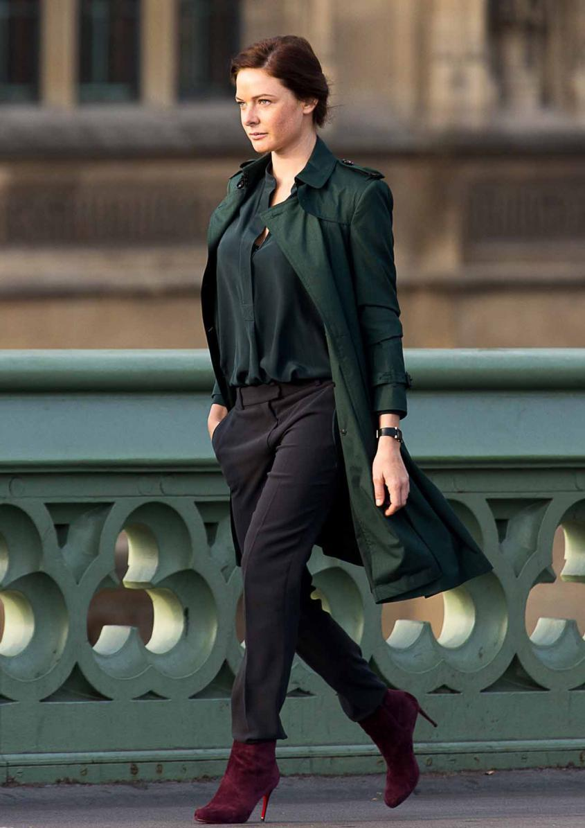 Barnum Discount Mission Impossible 5 Rebecca Ferguson Coat - Fit Jackets