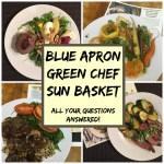 sun basket green chef blue apron review
