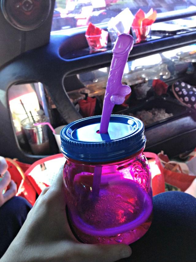 Slesh's NYC Bachelorette Straws