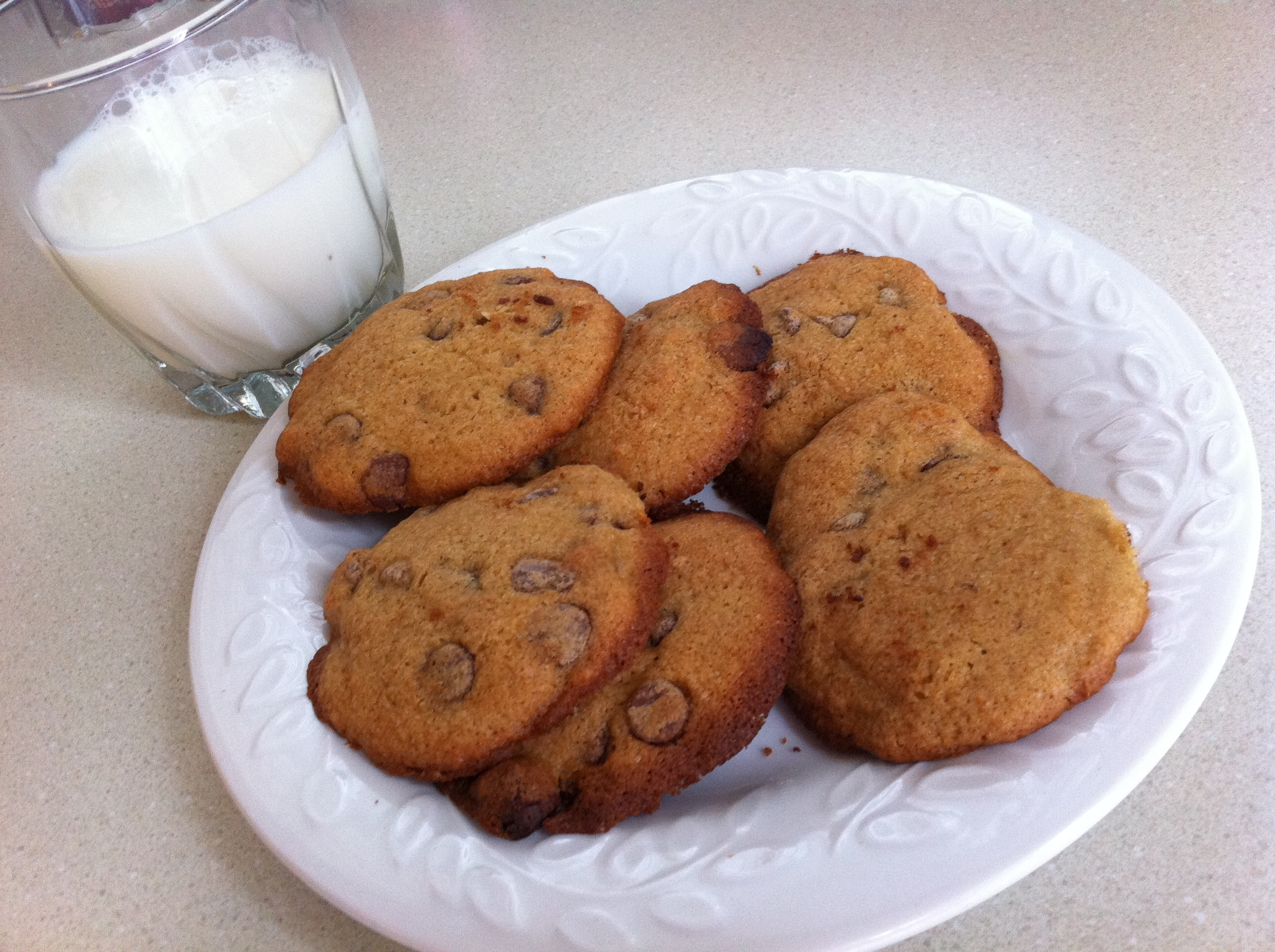 Low-Fat Soft Chocolate Chip Cookies